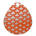 Orange with Silver Scale